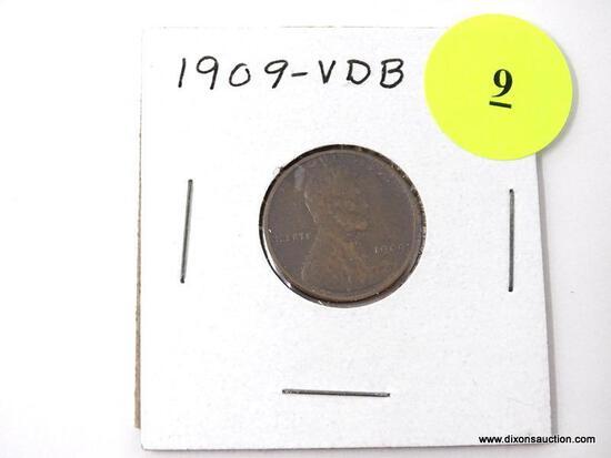 1909-VDB Wheat Cent