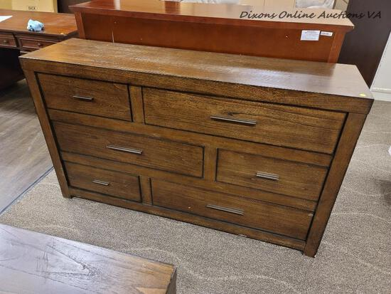 (R2) ASPENHOME MODERN LOFT BROWNSTONE DRESSER-IML-453-BRN. IS YOUR STYLE CLASSIC? IF SO, THE CLASSIC