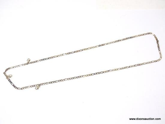 """.925 STERLING SILVER 30"""" 3-1 DIGORO NECKLACE. ITEM IS SOLD AS IS WHERE IS WITH NO GUARANTEES OR"""