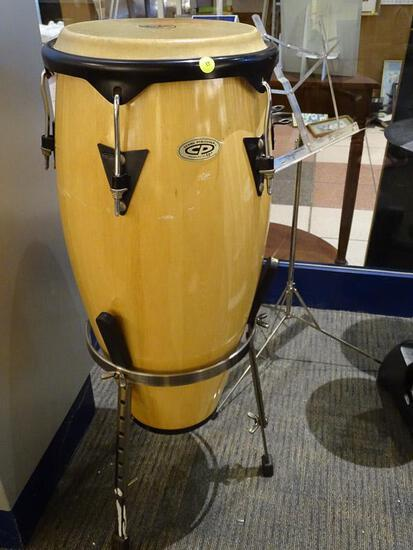 (SC) COSMIC PERCUSSION CONGA DRUM. ITEM IS SOLD AS IS WHERE IS WITH NO GUARANTEES OR WARRANTY. NO