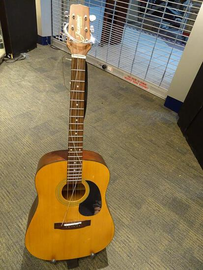 (SC) JASMINE BY TAKAMINE ACOUSTIC GUITAR. MODEL S-35. ITEM IS SOLD AS IS WHERE IS WITH NO GUARANTEES