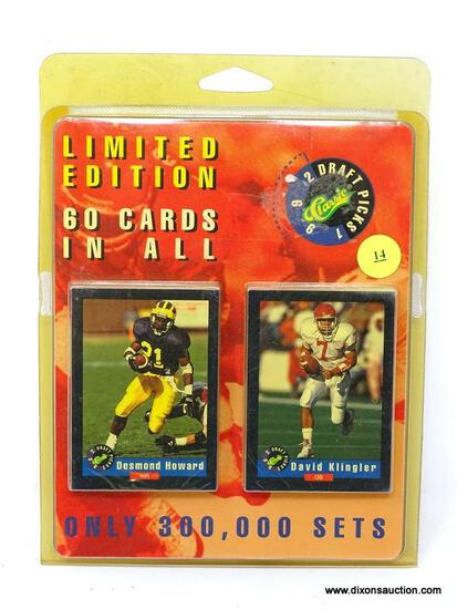 CLASSIC 1992 DRAFT PICKS LIMITED EDITION CARD SET. IS UNOPENED AND IN PACKAGING. ITEM IS SOLD AS IS