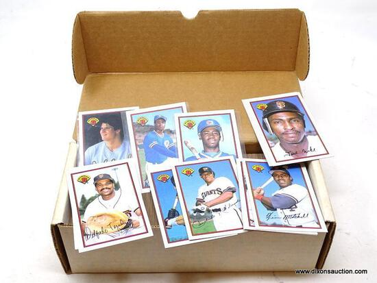 1989 BOWMAN SET OF BASEBALL CARDS. BOX APPEARS TO BE FULL. ITEM IS SOLD AS IS WHERE IS WITH NO