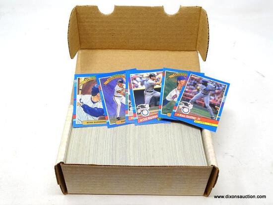 1994 DONRUSS SERIES 1 BASEBALL CARDS. ARE IN PROTECTIVE BOX. BOX APPEARS TO BE FULL. ITEM IS SOLD AS