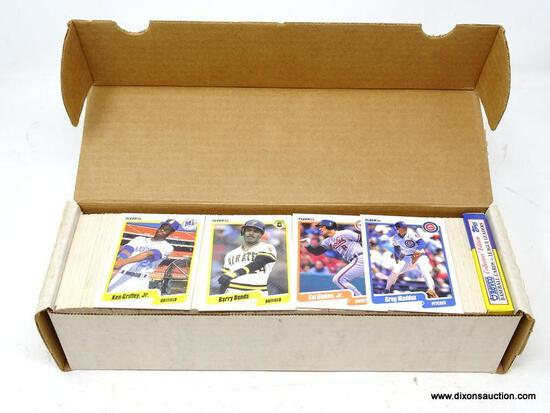 1990 FLEER BASEBALL CARDS. ARE IN PROTECTIVE BOX. BOX APPEARS TO BE FULL. ITEM IS SOLD AS IS WHERE