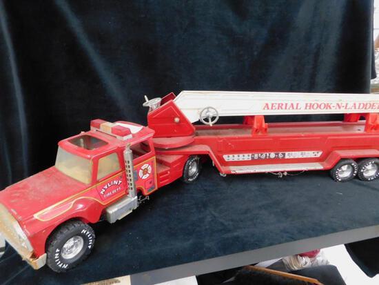Nylint Die Cast Fire Engine Ladder Truck
