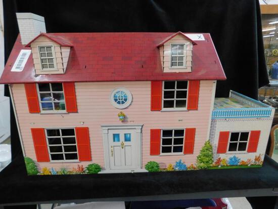 Marx Tin Litho Dollhouse