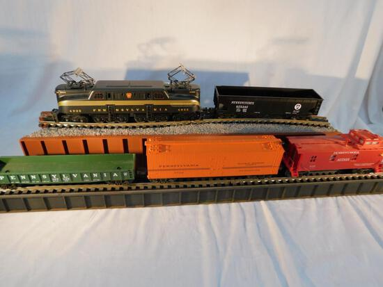 Rail King No. 004 5-Car Train Set Complete