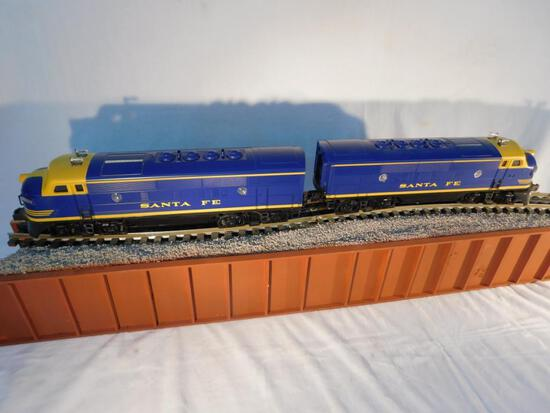 Lionel No. 6-18117 Santa Fe F3 AA Unit