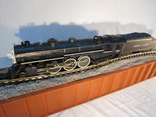 Lionel No. 6-8606 B and A Hudson Engine and Tender
