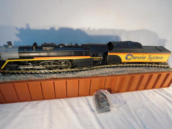 Lionel No. 6-18011 Chessie T-1 4-8-4 Steam Locomotive