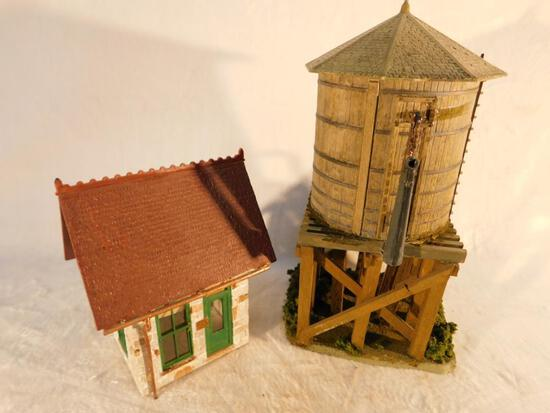 "Water Tank and Shanty ""O"" Gauge Used"