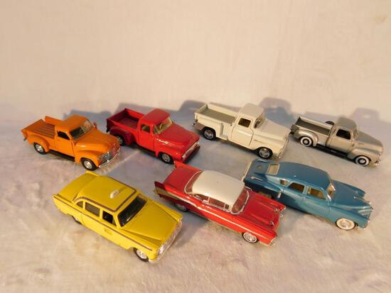 Vehicles of the 1950s in 1:43 scale 7 Cars and Trucks