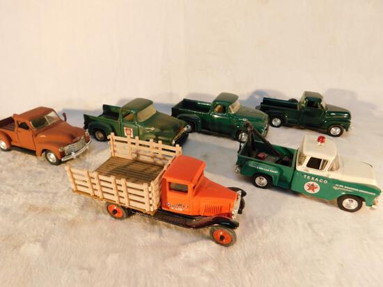 Vehicles of the 1950s in 1:43 scale 6 Trucks