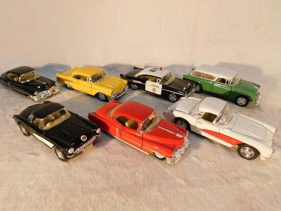 Vehicles of the 1950s in 1:43 scale 7 Friction Cars and Trucks