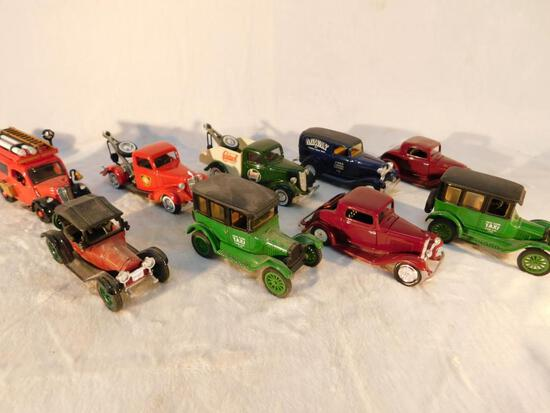 Vehicles of the 1950s in 1:43 scale 9 Cars and Trucks
