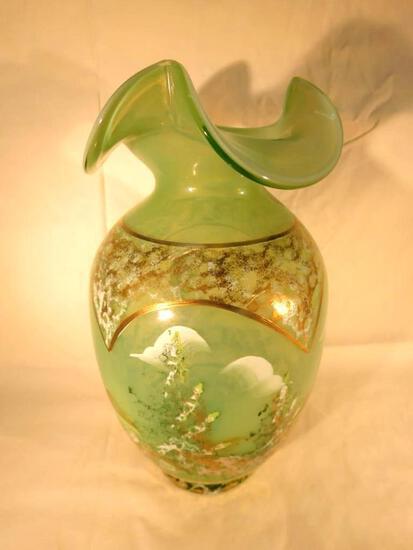 Signed Fenton Masterworks Limited Edition Vase #1