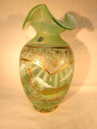 Signed Fenton Masterworks Limited Edition Vase #2