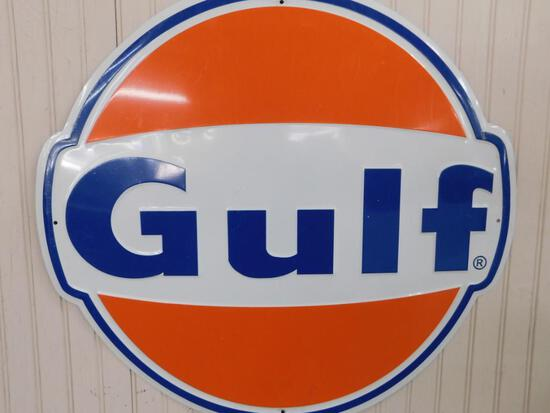 Reproduction Gulf Oil Sign