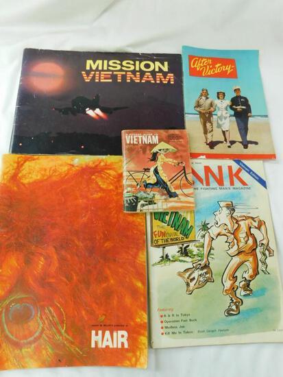 Vietnam War Era Publications - 5 Total