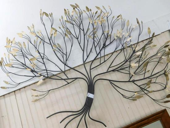 Large Metal Wall Art Tree