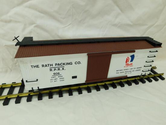 Bachmann G-Gauge - Rath Packing Company Boxcar