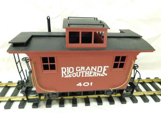 Bachmann- G-Gauge -#401 Rio Grande Southern Caboose