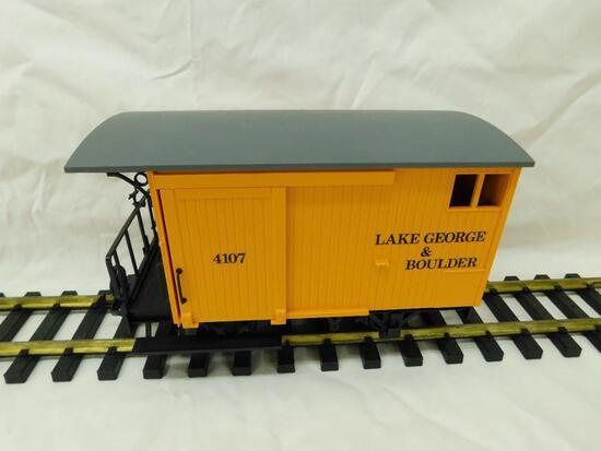 LGB - Lehmann- G-Gauge -#4107 Lake George and Boulder Wagon #1