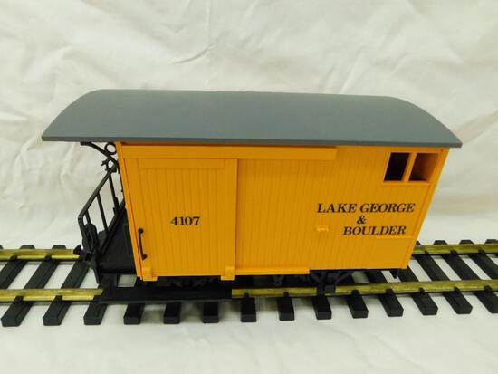 LGB - Lehmann- G-Gauge -#4107 Lake George and Boulder Wagon #2