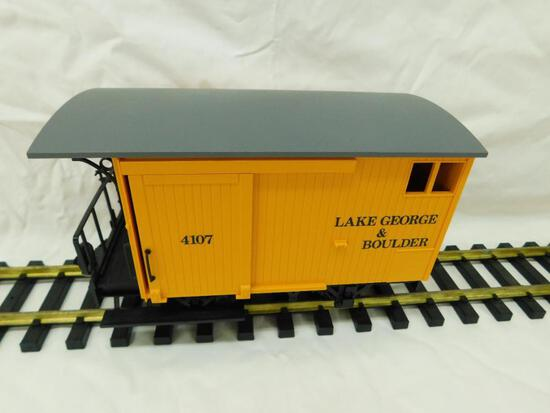 LGB - Lehmann- G-Gauge -#4107 Lake George and Boulder Wagon #3