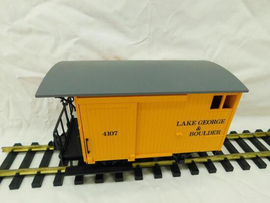 LGB - Lehmann- G-Gauge -#4107 Lake George and Boulder Wagon #4