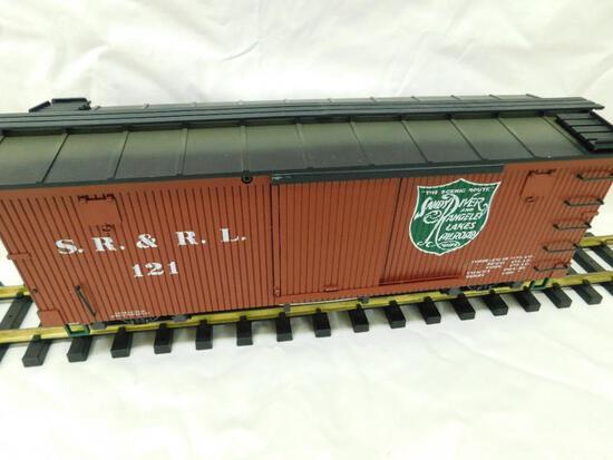 LGB - Lehmann - G Gauge - #48670 - Sandy River Boxcar