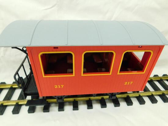 LGB - Lehmann- G-Gauge -#217 Red Passenger Car