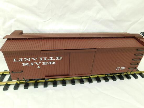 Bachmann - G-Gauge -Linville River Boxcar - Missing 1 Door