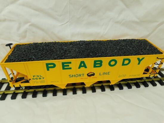Bachmann- G-Gauge -#6687 Peabody Coal Hopper