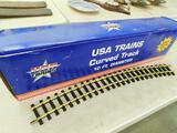 USA Trains - #R81700 - 10ft Curved Track - Full Circle - 12 Pieces #1