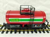 LGB - Lehmann- G-Gauge -#4040 Red Tank Car - LGB Logo