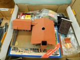 Lot with Pola Model Train Mill and Misc. Parts