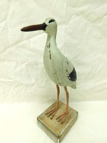 Carved Wood Seagull
