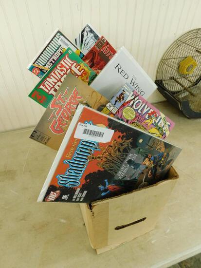 Box of 300+ Comic Books #1