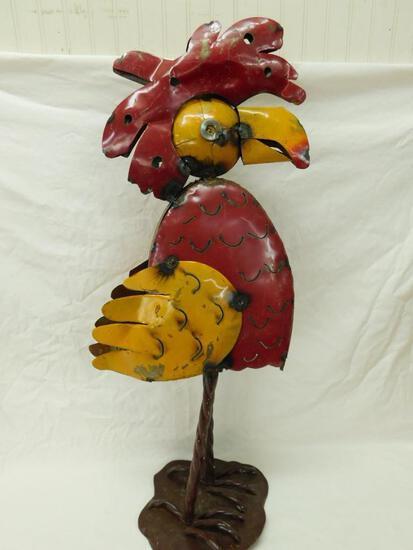 Mexican Metal Art Bird