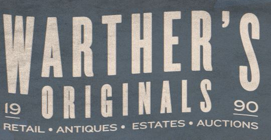 Warther's Originals Auction Company