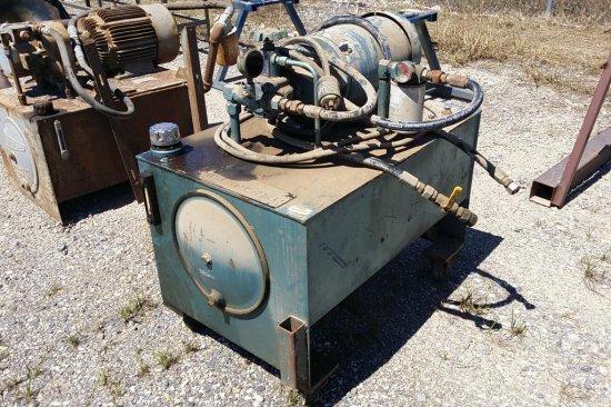 7.5 HP motor on tank