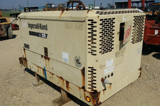 2004 Ingersoll Rand XP 375 WIR Air Compressor