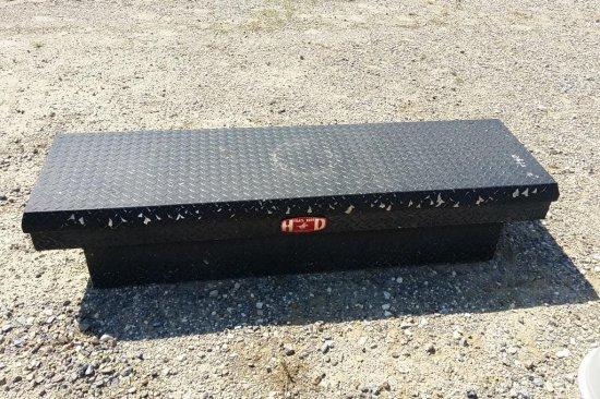 Black Aluminum Tool Box