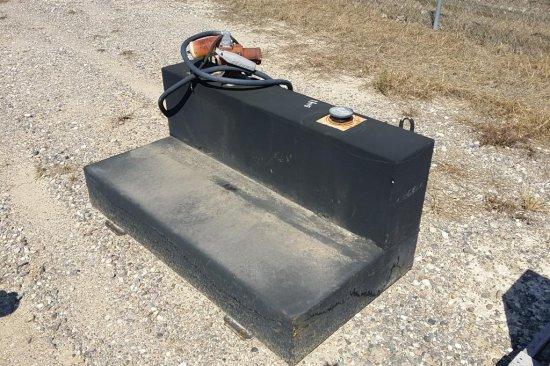 L Shaped Fuel Tank w/Electric Pump