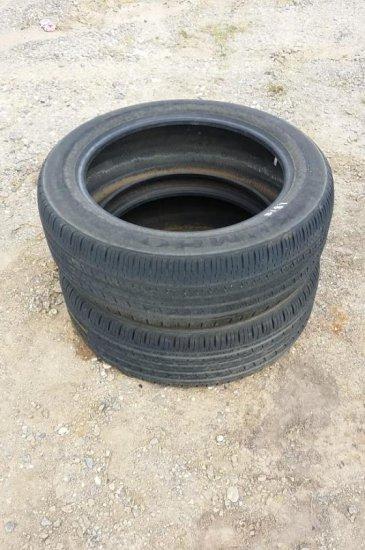 (2) Kumho Tires