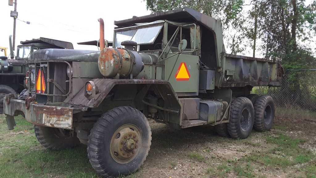 Lot: AM General Command M817 5 Ton Military Dump Truck | Proxibid