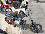 Black Dirt Bike