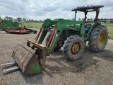 John Deere 5400 4WD Tractor W/Front Loader